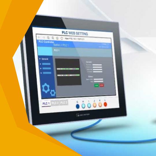 PLC web-servera atvēršana ar Weintek HMI (Video pamācība)-0