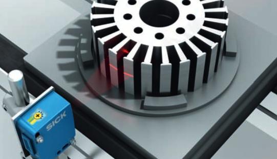 Фотоэлектрические датчики SICK W16 с технологией LineSpot-4