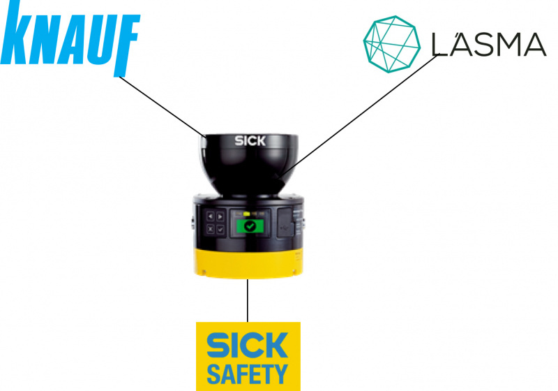 KNAUF chooses safe production environment with MicroScan3-5