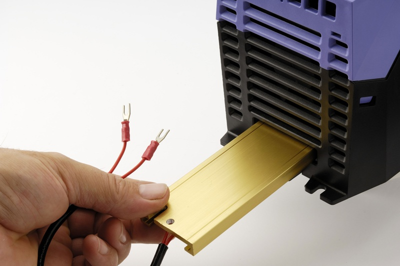Kā pareizi izvēlēties nepieciešamo bremžu rezistora vērtību Optidrive frekvenču pārveidotājam?-0
