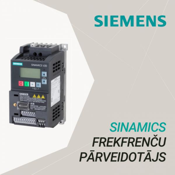 Расширенный ассортимент продуктов с преобразователями частот SIEMENS SINAMICS V20-0