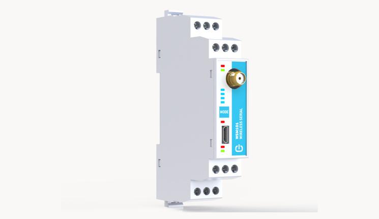 Bezvadu seriālā signāla retranslators WSM101 no Tekon-2