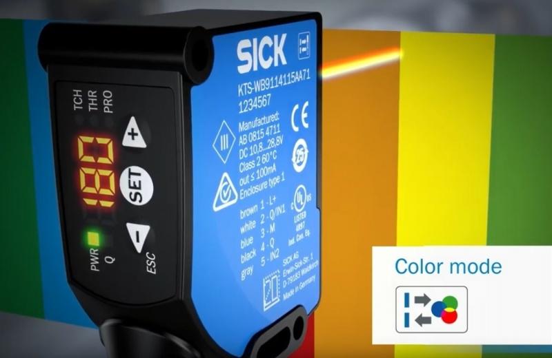 SICK KTS Prime - jaunākās paaudzes kontrasta sensors-8