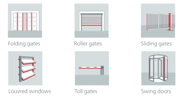 Safety for automatic window, gate and door systems-4