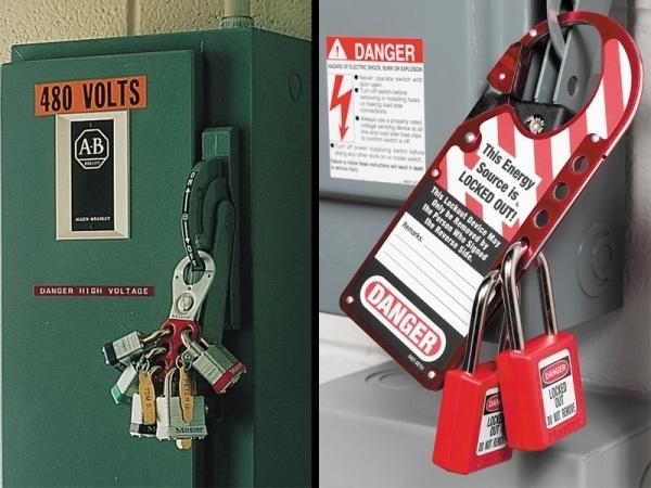 Master Lock - drošības slēdzeņu un brīdinājuma zīmju risinājumi-14
