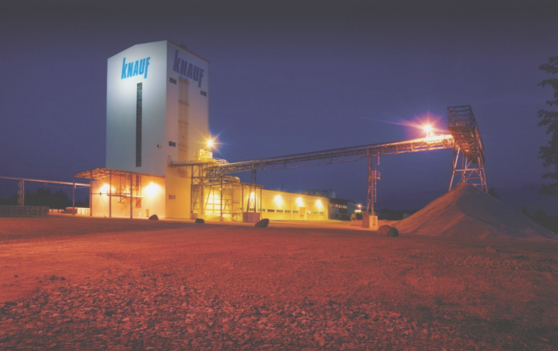 KNAUF chooses safe production environment with MicroScan3-0