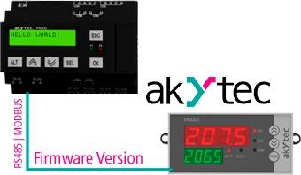 Programmējamais relejs PR200 no Akytec-5
