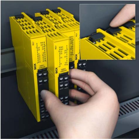Реле безопасности серии ReLy для OSSD и EMSS устройств от SICK-2