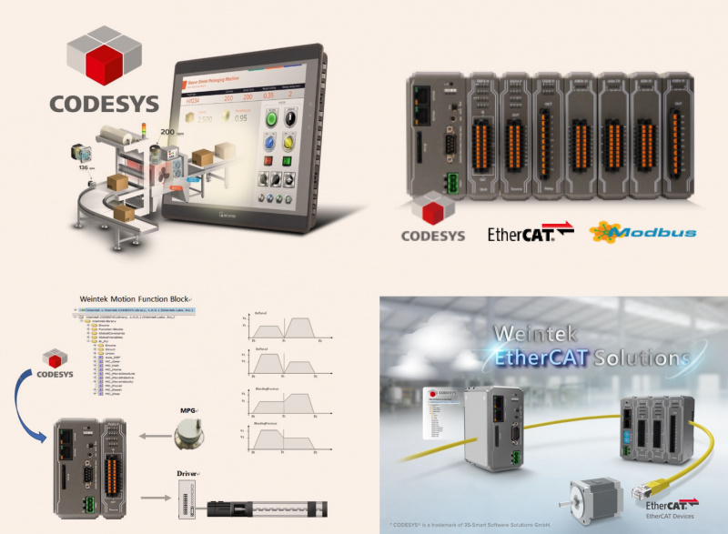 Weintek HMIs and PLCs with Codesys-0