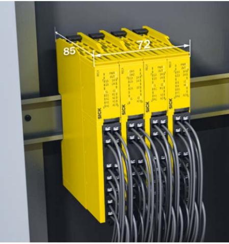 Реле безопасности серии ReLy для OSSD и EMSS устройств от SICK-3
