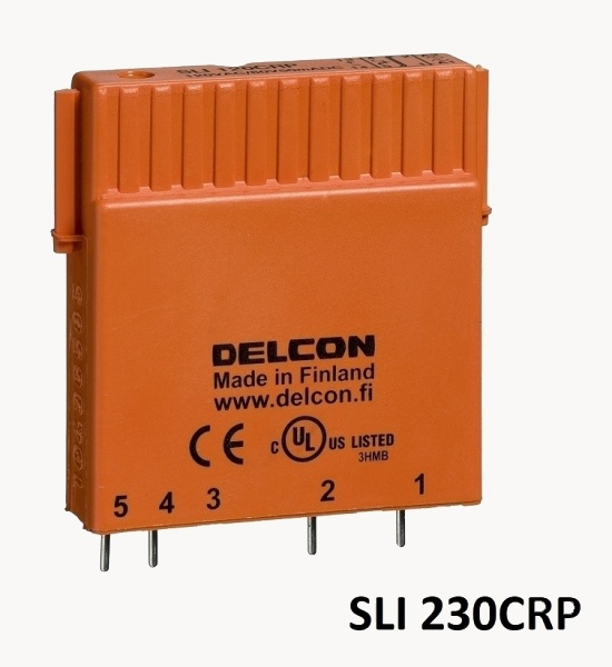 SSR relejs, kas imūns pret noplūdes strāvu - Delcon SLI230CRP-0