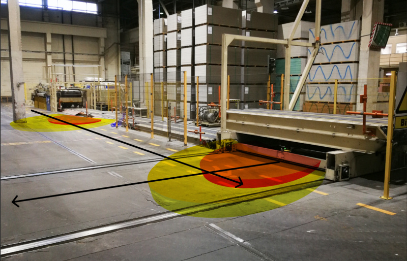 KNAUF chooses safe production environment with MicroScan3-2