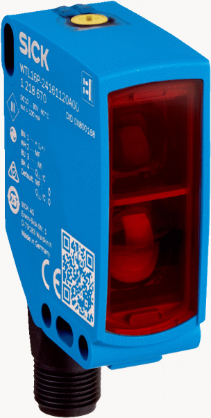 SICK W16 foto sensors ar LineSpot tehnoloģiju-1