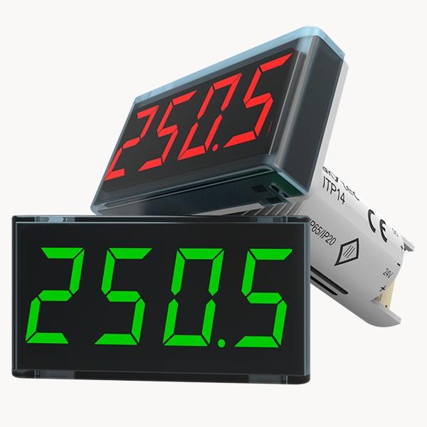 ITP14 универсальный индикатор процесса 0-10 В / 4-20 мА и Транзисторный выход NPN-2