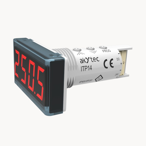 ITP14 universal process indicator 0-10 V / 4-20 MA and NPN transistor output-1