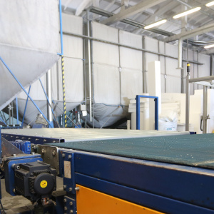 Production of TENAPORS thermal insulation materials with ESTUN servo drive-3