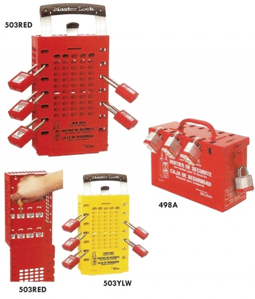Master Lock - drošības slēdzeņu un brīdinājuma zīmju risinājumi-5