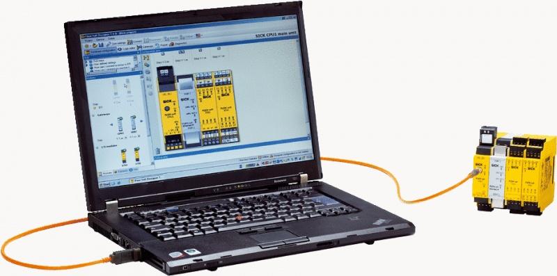БЕЗОПАСНОСТЬ B КОМПАНИИ - начальный комплект PLC из SICK за особую цену-0