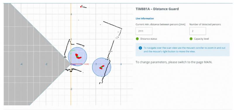 Viedais risinājums – DistanceGuard fiziskās distancēšanās nosacījumu ievērošanai-5