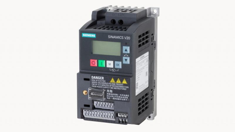 Paplašināts produktu klāsts ar SIEMENS SINAMICS V20 frekvenču pārveidotājiem-0