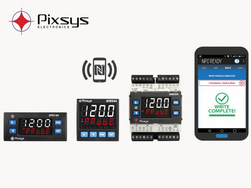 Jaunās paaudzes PIXSYS BLUE LINE PID Procesu parametriskie kontrolleri-0