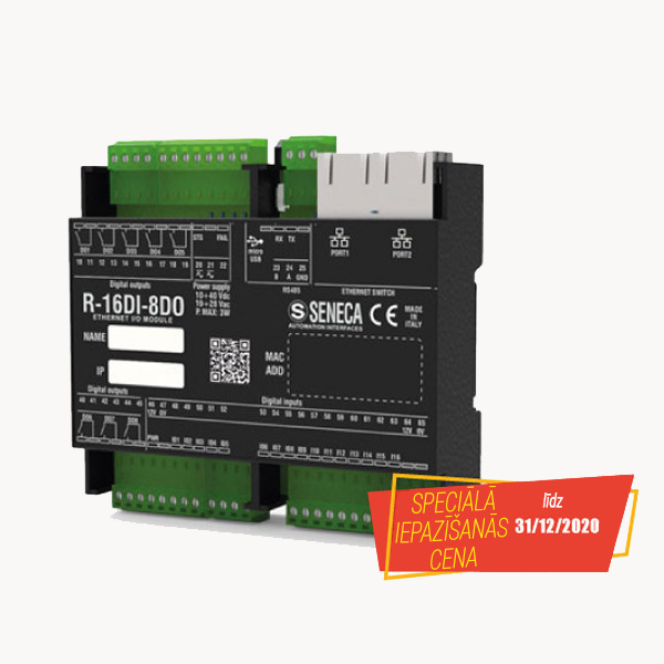 New Profinet IO module with 16DI and 8 relay DO-0