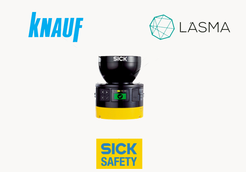 KNAUF chooses safe production environment with MicroScan3-6