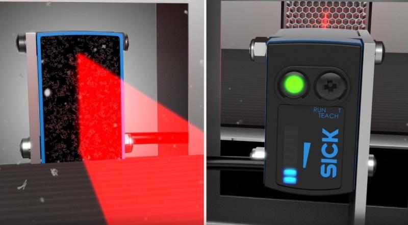 SICK Reflex Array Фотоэлектрический датчик с 2D матрицей света для различных объектов-7