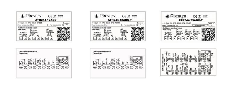 Jaunās paaudzes PIXSYS BLUE LINE PID Procesu parametriskie kontrolleri-10