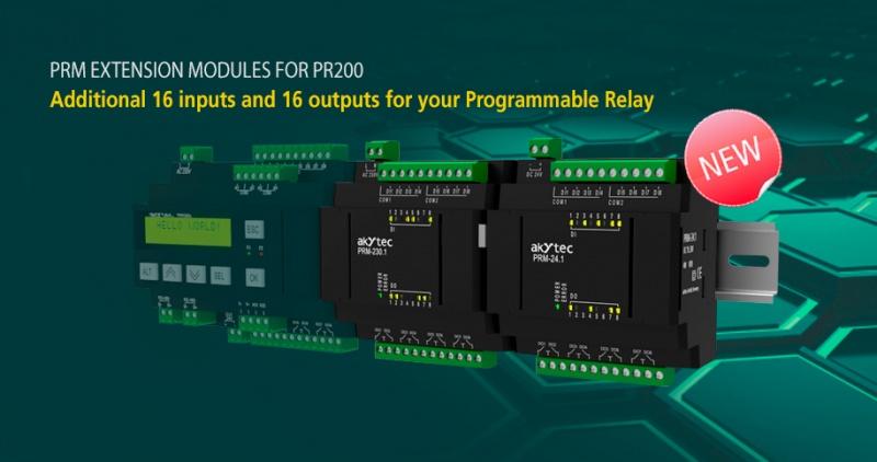 Programmējamais relejs PR200 no Akytec-4