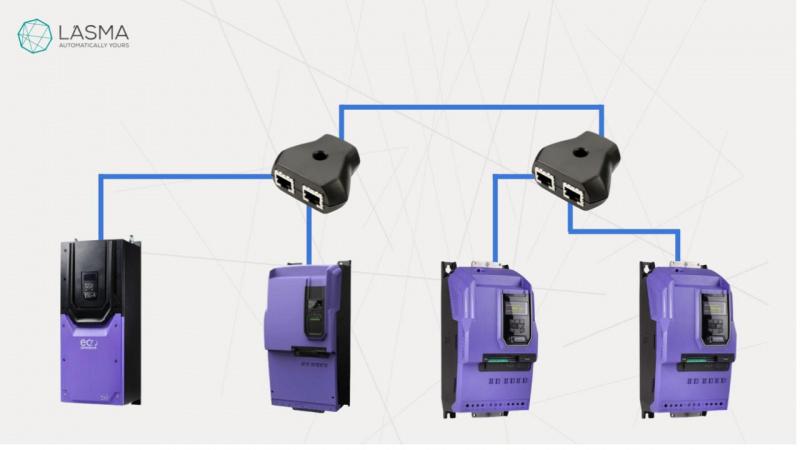 Timberex Group dēļu zāģēšanas līnijas aprīkošana ar Invertek frekvenču pārveidotājiem-2