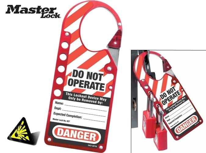 Master Lock - drošības slēdzeņu un brīdinājuma zīmju risinājumi-10