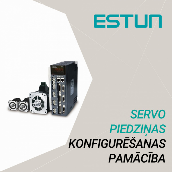 Setting common basic function on ESTUN servo drive-0