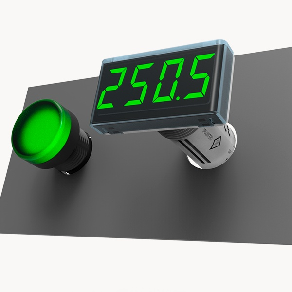 ITP14 universal process indicator 0-10 V / 4-20 MA and NPN transistor output-0
