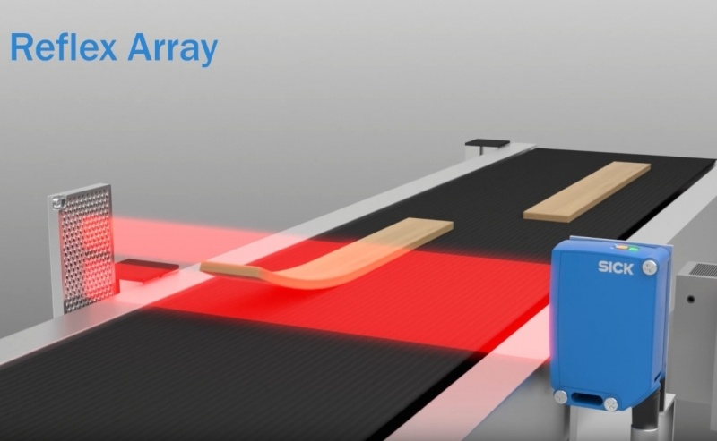 SICK Reflex Array photoelectric sensor with the 2D light array - multifaceted detection-0