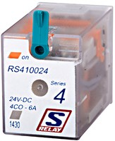 S-Relay RS4, 24VDC 4CO@6A
