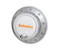 ENH-100-1-T-24 Autonics ENH enkoderis ar rokturīti, 100 impulsi, Totem pole izeja, 24Vdc;