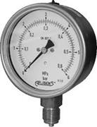 ms-100K/0...10bar/G1/2 -  industriāls spiediena manometrs, 0....10 bar, procesa savienojums G 1/2.