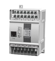 PR110-24.8D.4R-RTC Programmable Relay, 24VDC, 8DI + 4DO, Real Time Clock