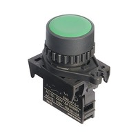 S2PR-P1GAM poga zaļa,220VAC,5A/110VAC,10A