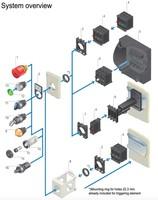 Kontakti, LED diodes, u.c. Piederumi
